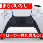 PS5のコントローラーがトトロ?スク水に見える?